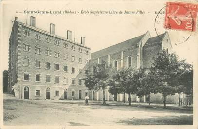 """CPA FRANCE 69 """"Saint Genis Laval, Ecole supérieure"""""""