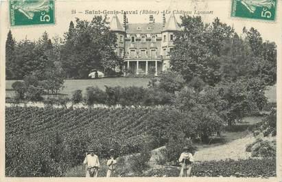 """CPA FRANCE 69 """"Saint Genis Laval, le Chateau Lyonnet"""""""