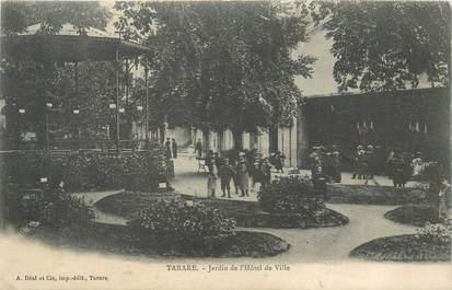 """CPA FRANCE 69 """"Tarare, Jardin de l'Hotel de ville"""""""