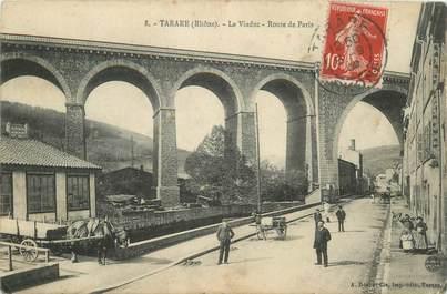 """CPA FRANCE 69 """"Tarare, le Viaduc, route de Paris"""""""
