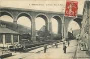 "69 RhÔne CPA FRANCE 69 ""Tarare, le Viaduc, route de Paris"""