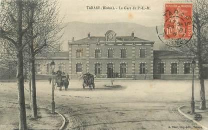 """CPA FRANCE 69 """"Tarare, La Gare"""""""