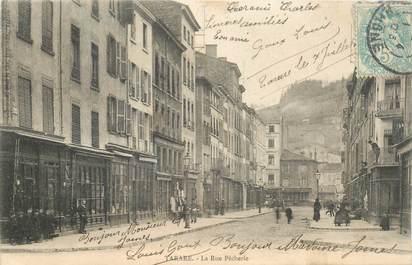 """CPA FRANCE 69 """"Tarare, la rue Pècherie"""""""
