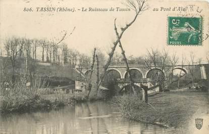 """CPA FRANCE 69 """"Tassin la Demi Lune, le ruisseau """""""