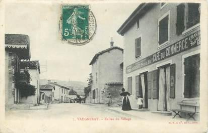 """CPA FRANCE 69 """"Vaugneray, entrée du village"""""""