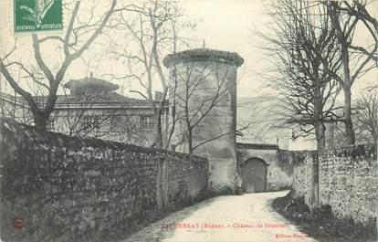 """CPA FRANCE 69 """"Vaugneray, chateau de Bénevent"""""""