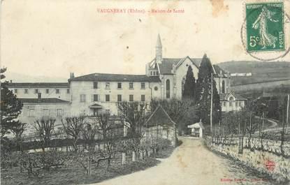 """CPA FRANCE 69 """"Vaugneray, maison de Santé"""""""