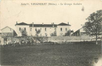 "CPA FRANCE 69 ""Vaugneray, le groupe scolaire"""