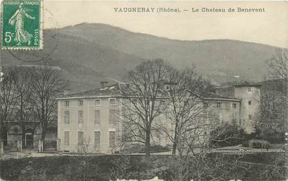 "CPA FRANCE 69 ""Vaugneray, le chateau de Bénévent"""