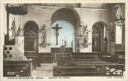 """CPA FRANCE 69 """"Vaux en Velin, intérieur de l'Eglise"""""""