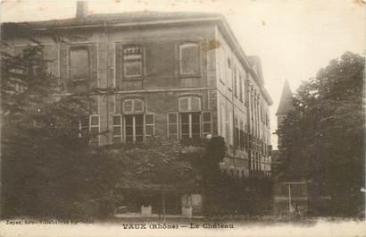 """CPA FRANCE 69 """"Vaux en Velin, le chateau"""""""