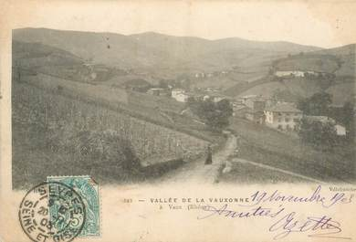 """CPA FRANCE 69 """"Vaux en Velin, vallée de la Vauxonne"""""""