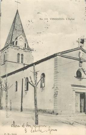 """CPA FRANCE 69 """"Vénissieux, l'Eglise"""""""