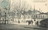 """69 RhÔne CPA FRANCE 69 """"Villefranche sur Saône, Place du Palais et salle des Fêtes"""""""
