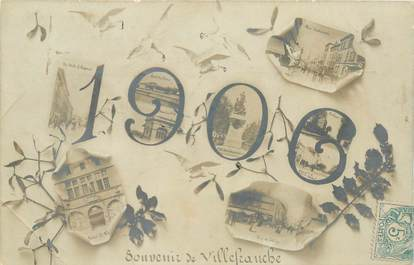 "CPA FRANCE 69 ""Villefranche sur Saône, 1906"""