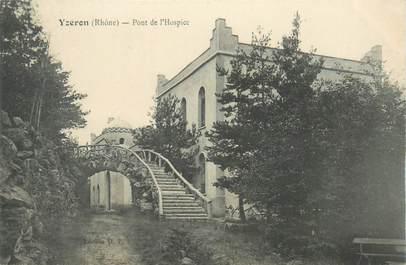"""CPA FRANCE 69 """"Yzeron, pont de l'Hospice"""""""