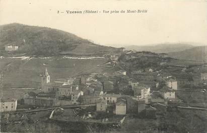 """CPA FRANCE 69 """"Yzeron, vue prise du Mont Brûlé"""""""