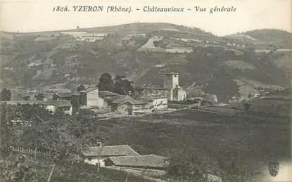 """CPA FRANCE 69 """"Yzeron, Chateauvieux"""""""
