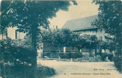 """CPA FRANCE 69 """"Yzeron, Hotel Beau site"""""""
