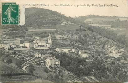 """CPA FRANCE 69 """"Yzeron, vue générale"""""""