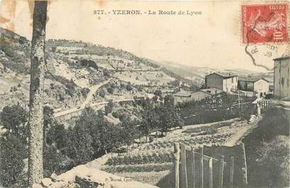 """CPA FRANCE 69 """"Yzeron, La Route de Lyon"""""""