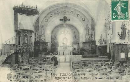"""CPA FRANCE 69 """"Yzeron, Intérieur de l'Eglise"""""""