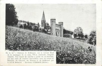 "CPA FRANCE 69 ""Yzeron, chateau Saint Bonnet"""