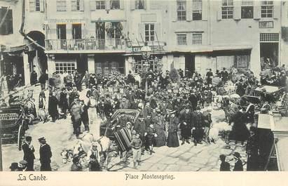 """CPA CRETE """"La Canée, Place Montenegrins"""""""