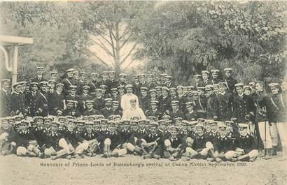 """CPA CRETE """"Souvenir du Prince Louis de Battenberg's à la Canée, 1902"""""""