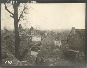 "CPA / PHOTOGRAPHIE FRANCE 02 ""Missy"" / DESTRUCTION APRES GUERRE"