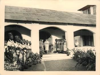 """CPA / PHOTOGRAPHIE DAHOMEY """"Porto Novo, 1955"""""""