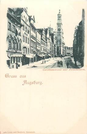 """CPA ALLEMAGNE / Gruss aus Augsburg"""""""