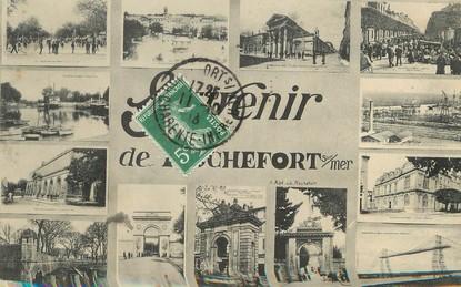 """/ CPA FRANCE 17 """"Souvenir de Rochefort sur Mer"""""""