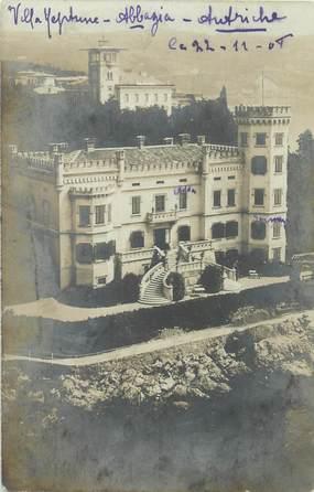 """CARTE PHOTO AUTRICHE """"Abbazia"""""""