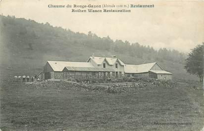 "CPA FRANCE 88 ""Chaume du Rouge Gazon, Restaurant Rothen Wasen"""