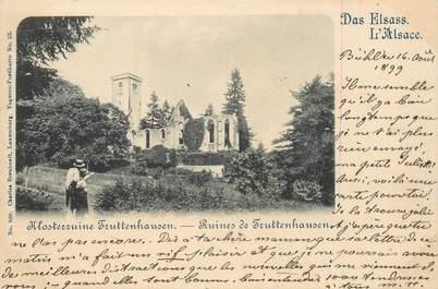 "CPA FRANCE 88 ""Ruines de Truttenhausen"""