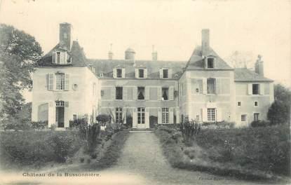 """CPA FRANCE 72 """"Chateau de la Bussonnière"""""""
