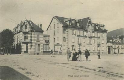 "CPA FRANCE 88 ""Gerardmer, Hotel Cholé Terminus"""