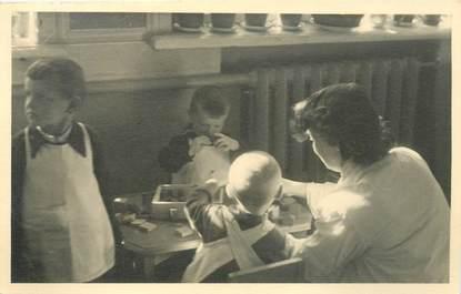 """CPA / CARTE PHOTO RUSSIE """"Léningrad, 1950"""""""