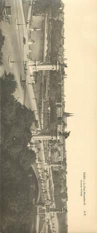 """CPA PANORAMIQUE FRANCE 75 """"PARIS, le Pont Alexandre III"""""""