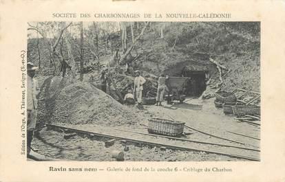 """CPA NOUVELLE CALEDONIE """"Mine de charbon"""" / BAGNE / BAGNARD ??"""