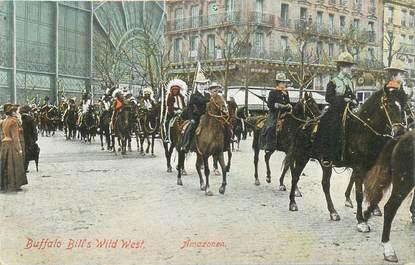 CPA INDIEN / BUFFALO BILL à Paris