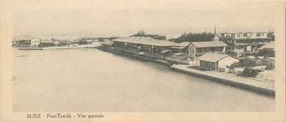 """CPA EGYPTE """"Canal de Suez"""" / FORMAT SPÉCIAL"""
