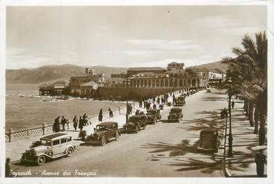 "CPA LIBAN ""Beyrouth, avenue des Français"""