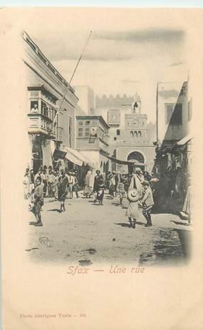 """CPA TUNISIE """"Sfax, une rue"""""""