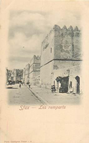 """CPA TUNISIE """"Sfax, les remparts"""""""