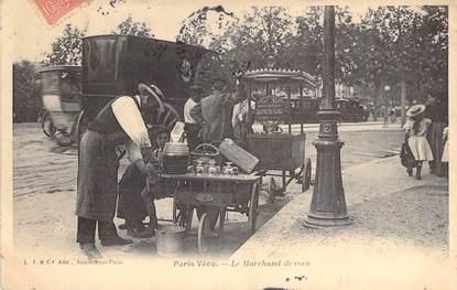 """CPA FRANCE PARIS / PARIS VECU """"Le Marchand de coco"""""""