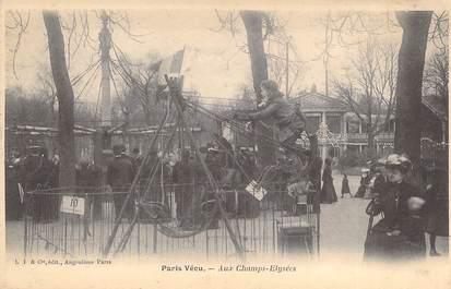 """CPA FRANCE PARIS / PARIS VECU """"Aux Champs Elysées"""""""