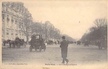 """CPA FRANCE PARIS / PARIS VECU """"Les Champs Elysées"""""""