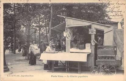 """CPA FRANCE PARIS / PARIS VECU """"Le Glacier populaire"""""""